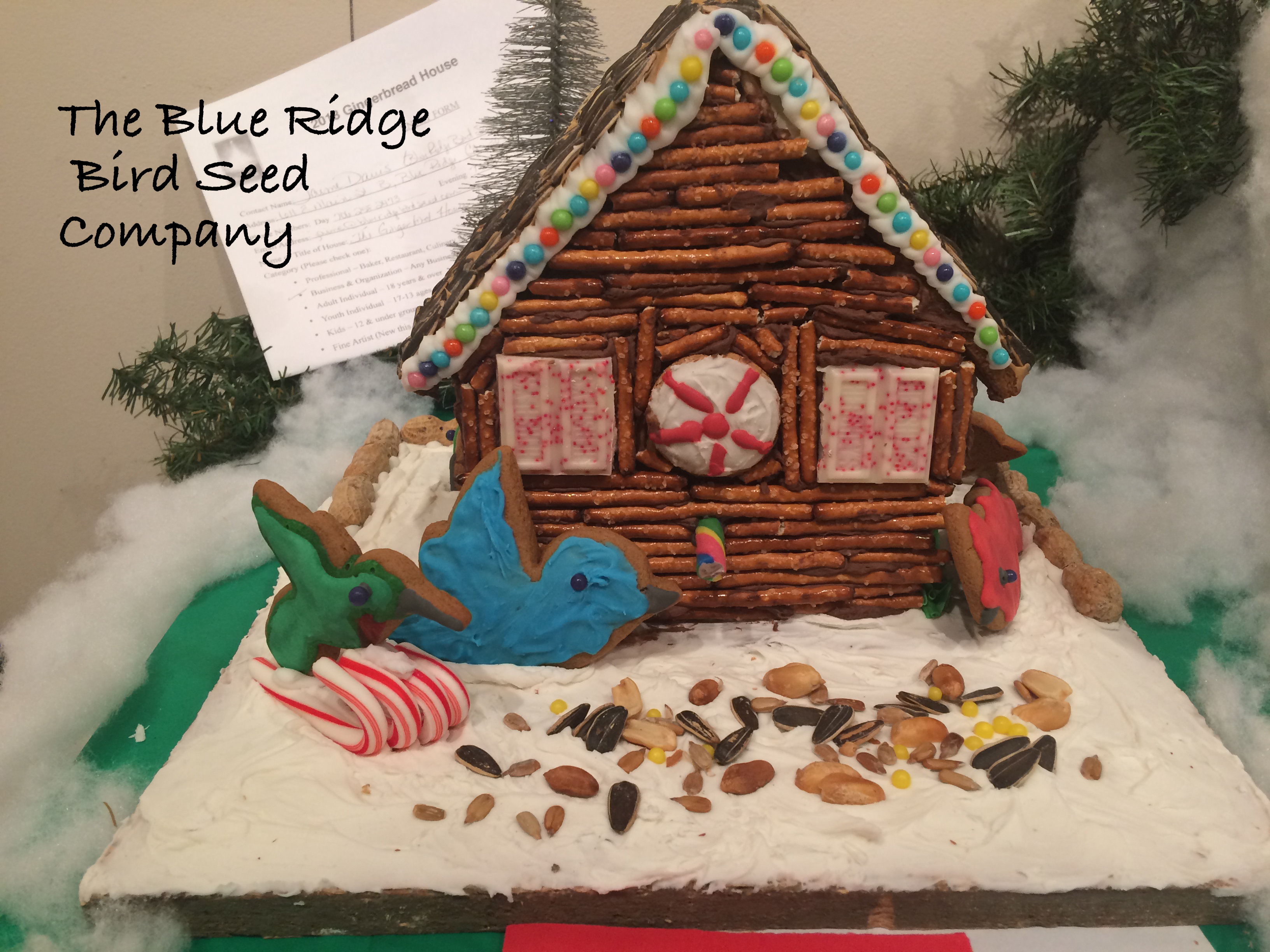 Gingerbread Village Contest 2018